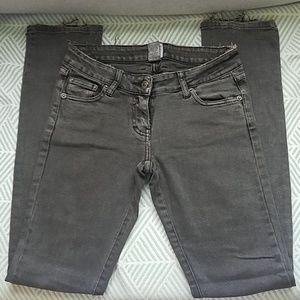 Sass & Bide low rise gray jeans